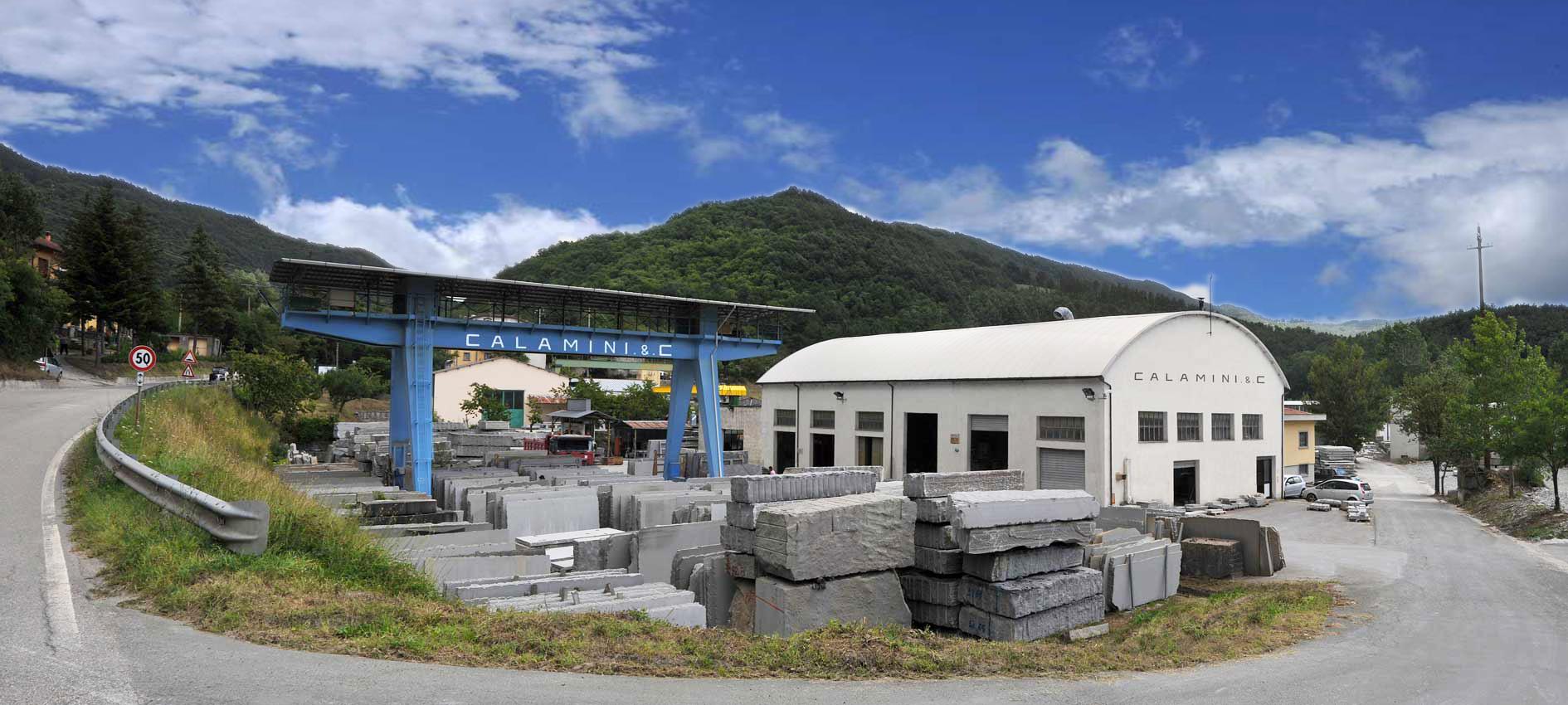 calamini azienda di estrazione e lavorazione della pietra serena