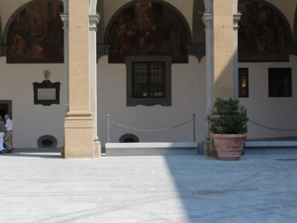 Recupero e ampliamento dell'Ospedale Santa Maria Nuova di Firenze, esterno