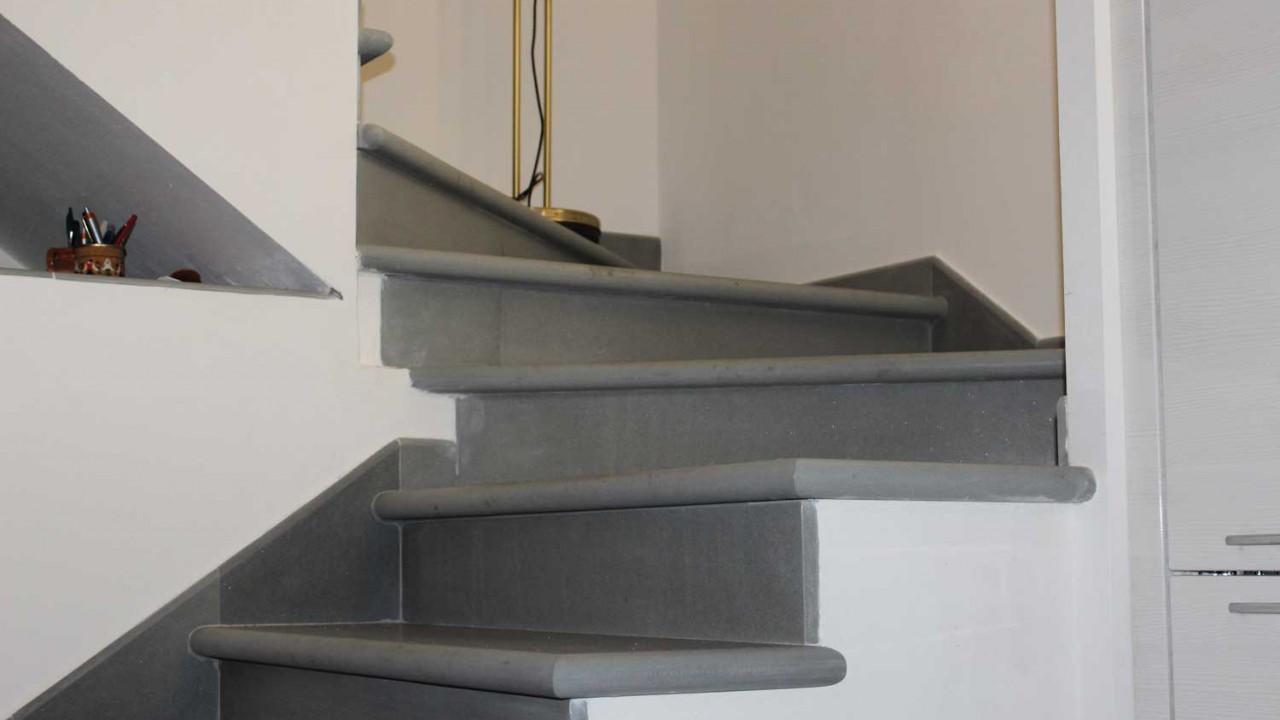 scala in pietra serena interna : scale in pietra serena calamini urbano