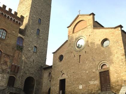 Rifacimento pavimentazione Piazza Duomo a San Gimignano