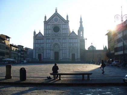 Restauro Pietra Serena: Piazza Santa Croce