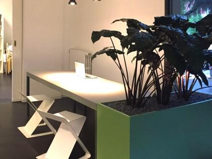 Interior Design – Tavolo in Pietra Serena e Ferro Zincato