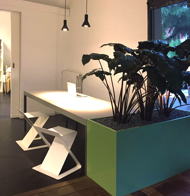 Interior Design | Tavolo in Pietra Serena | Arch Busutti Vera