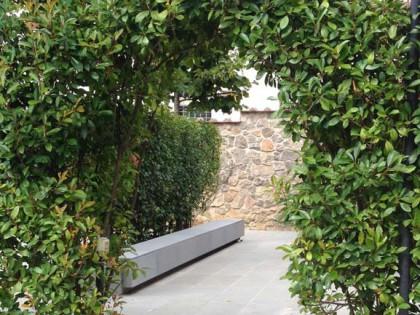 Giardino privato in Pietra Serena
