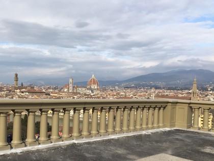 Realizzazione di Opera di Restauro Piazzale Michelangelo