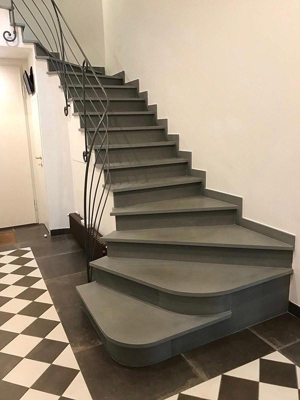 ristrutturazioni scale in pietra