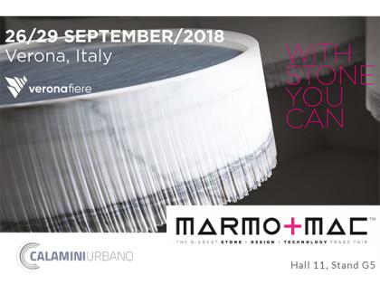 Calamini Urbano un'eccellenza Italiana alla Marmomac 2018